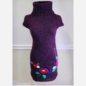 Desigual sweater dress, size S